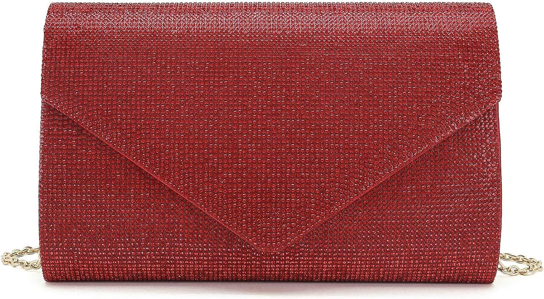 iXebella Rhinestone Bag for List price Women Ranking TOP12 Crysta Evening Handbag Sparkly