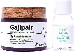 Farmermaker Gajipair Speed کرم آرایشی با رایحه ای گیلاس 70ml، 2.36 fl. اوز برای چهره مرطوب کننده، مرطوب کننده، آرام بخش و تعمیر پوستی حساس