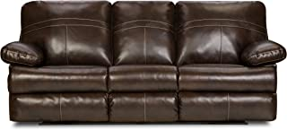 Simmons Upholstery Bonded Leather Double Motion Sofa