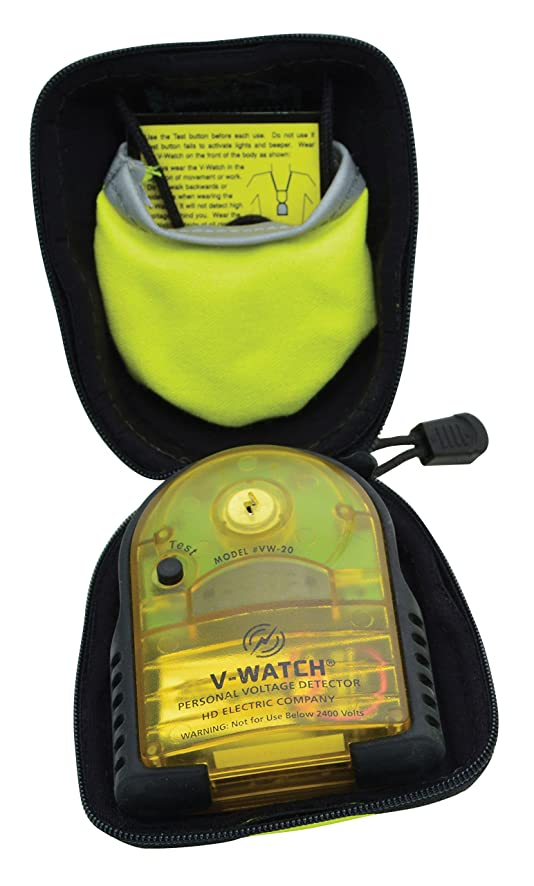 ウィスキーかまどクレーターGreenlee VW-20HFR V-Watch Personal Voltage Detector Fr 個人用電圧検出器 141[並行輸入]