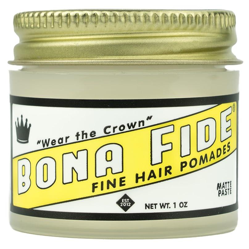 戸棚引き渡す発送Bona Fide Pomade, マットペースト 1oz (28g) / トラベルサイズ,水性/グリース