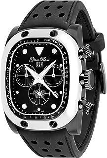 Glam Rock - Reloj Unisex GR70108 Gulfstream Collection Cronógrafo Negro de Silicona