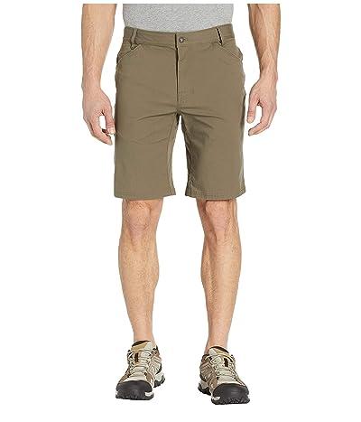 Prana Santiago Shorts (Slate Green) Men