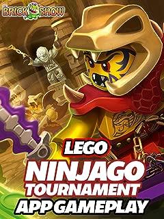 Clip: Lego Ninjago Tournament App Gameplay