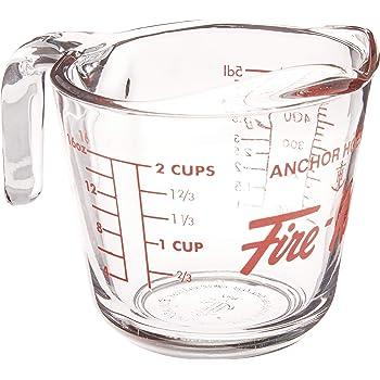 ファイヤーキング メジャリングカップ 全面物理強化ガラス 500ml H498/2615L13