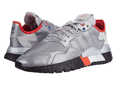 adidas Originals Nite Jogger (Silver/Silver/Black) Men