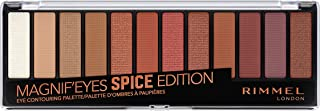 Rimmel London, Magnif'Eyes Eye Contouring Palette, 05 Spice Edition, 14.2 g