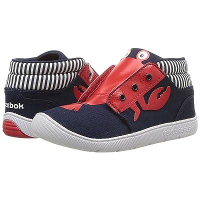 Reebok Kids Venture Flex Chukka (Infant/Toddler) (Collegiate Navy/Primal Red/White) Boys Shoes