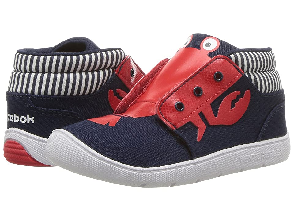 Reebok Kids Venture Flex Chukka (Infant/Toddler) (Collegiate Navy/Primal Red/White) Boys Shoes