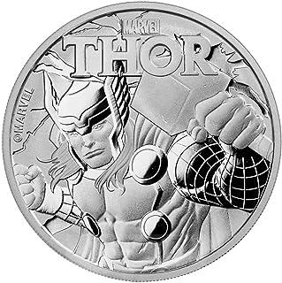 2018 TV Tuvalu 1 oz Silver $1 Marvel Series THOR™ .999 Fine silver $1 Brilliant Uncirculated