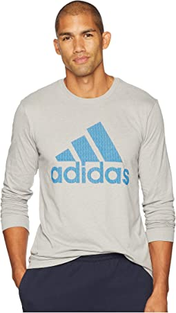 Badge of Sport Mesh Long Sleeve