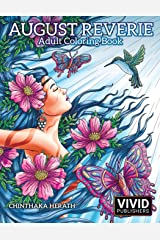 August Reverie: Adult Coloring Book Paperback