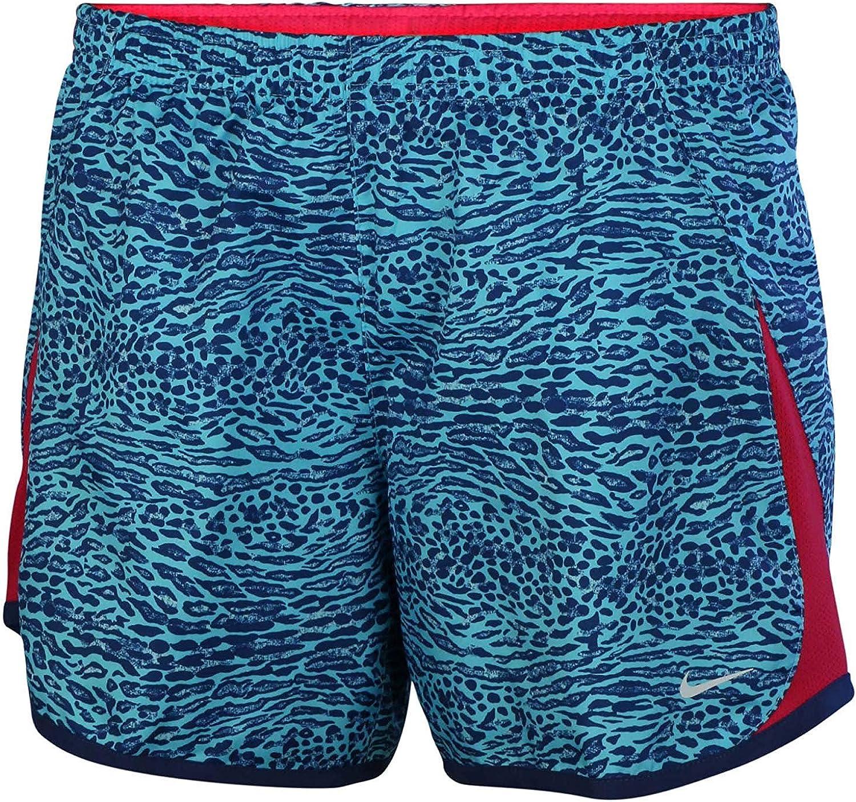 Nike Big Girls' (7-16) Dri-Fit 5K Printed Running Shorts-Light Blau-Large B01N6NLA4R  Dauerhafter Service