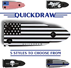 QuickDraw Magnetic Gun Mount for Vehicle Home Office 35lb Rated Gun Magnet Holder Holster..