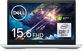 Dell ゲーミングノートパソコン Dell G3 15 3500 ホワイト Win10/15.6FHD/Core i7-10750H/8GB/512GB SSD/GTX1650 NG375A-ANLW