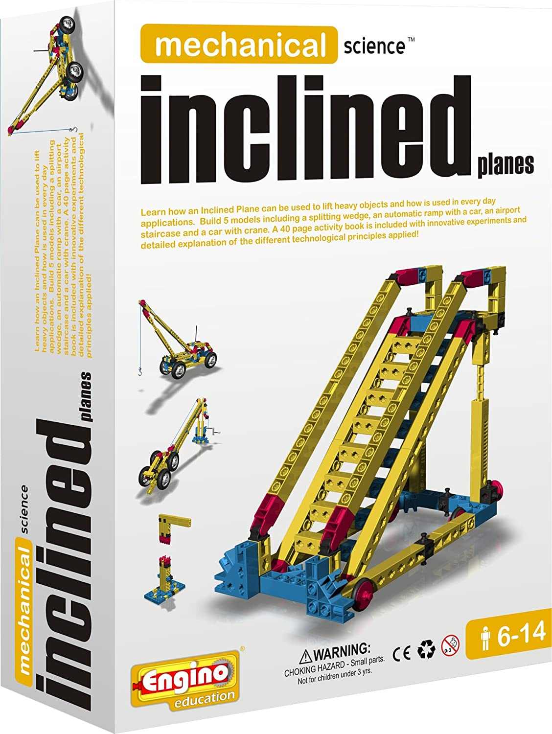 Engino Mechanical Science  Inclined Planes