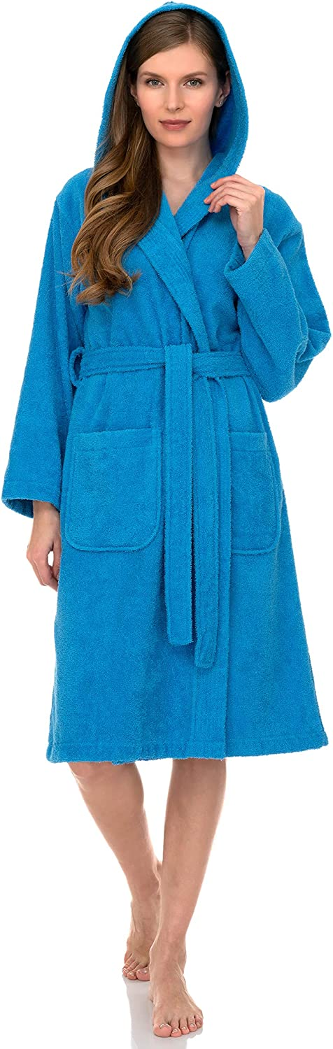 Max 76% OFF TowelSelections Women's Hooded Robe Cloth Terry Sacramento Mall Turkish Cotton