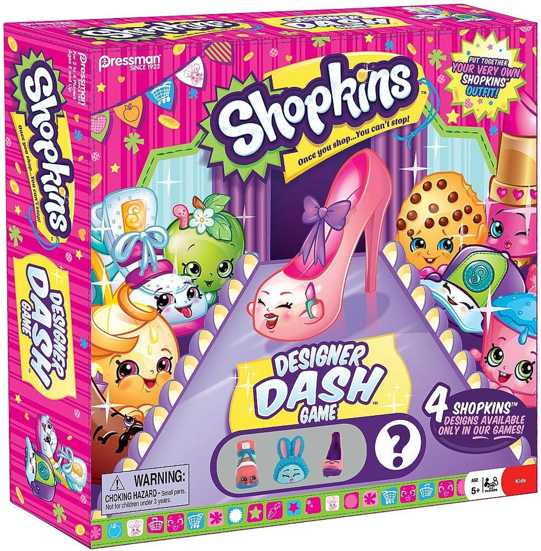 Shopkins Designer Dash Game by Moose Toys B014X7GV0I Abgabepreis  | Fein Verarbeitet