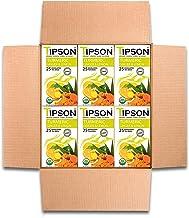 Tipson Tea Organic Tumeric Ginger & Lemon Tea with Herbal Infusions - 150 Tea Bags by MunchBox