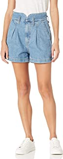 Women's High Waisted Mom Shorts