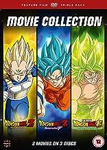 Dragon Ball Movie Trilogy Battle Of Gods, Resurrection F , Broly