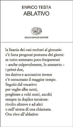 Ablativo (Collezione di poesia Vol. 411)