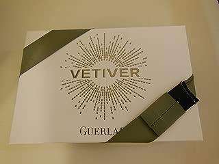 Vetiver Guerlain 3 Piece Gift Set:3.3 Oz Eau De Toilette Spray + 2.5 Oz Shampoo + 1.7 Oz Deodorant Spray