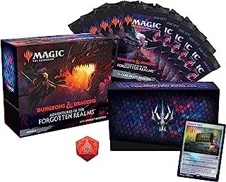 Pacote de Magic: The Gathering Adventures in the Forgotten Realms | 10 boosters de draft (150 cards de Magic) + acessórios...