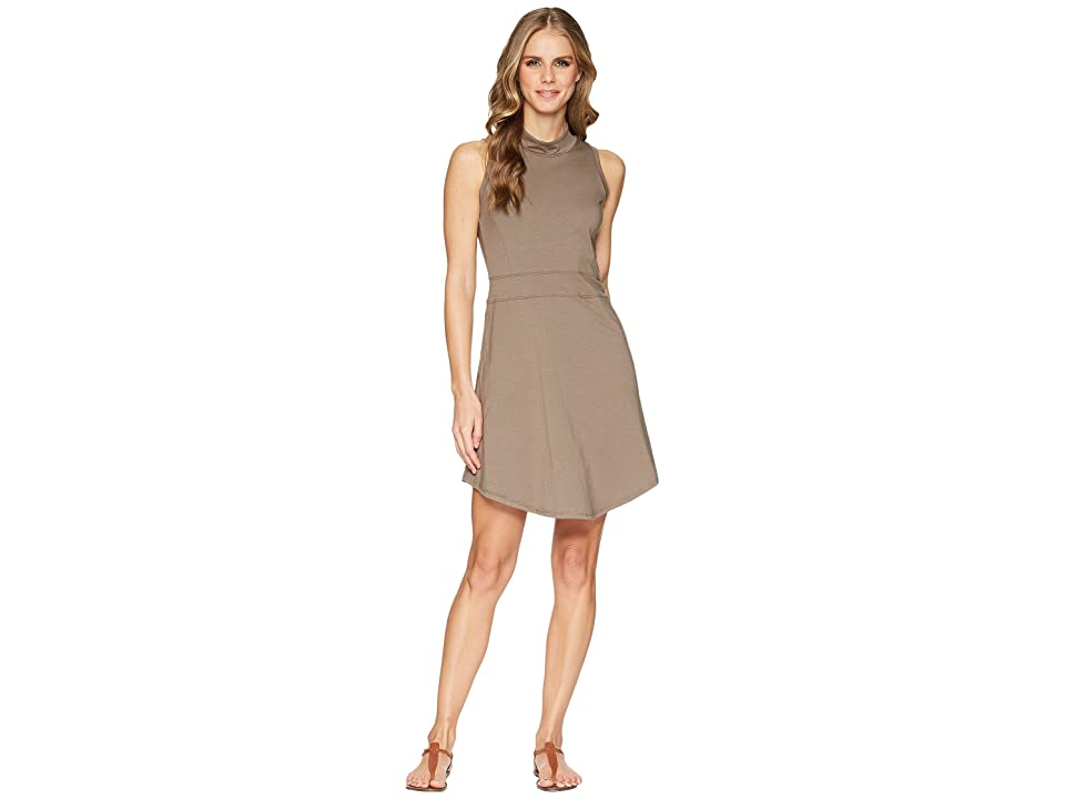 Toad&Co Summerdance Sleeveless Dress (Falcon Brown) Women