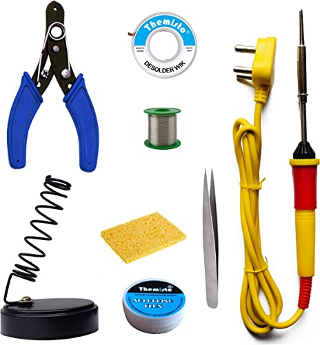 Themisto Beginners 8 in 1 Soldering iron Kit