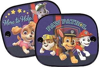 2x Auto Sonnenschutz Paw Patrol Kinder Seitenschutz Sonnenblende universal