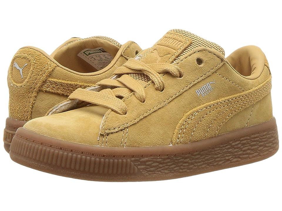 Puma Kids Basket Classic Weatherproof (Toddler) (Taffy/Taffy) Girls Shoes