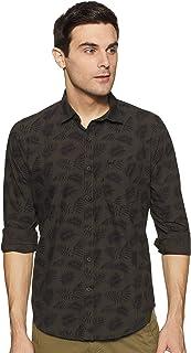 Monte Carlo Men's Regular Fit Casual Shirt