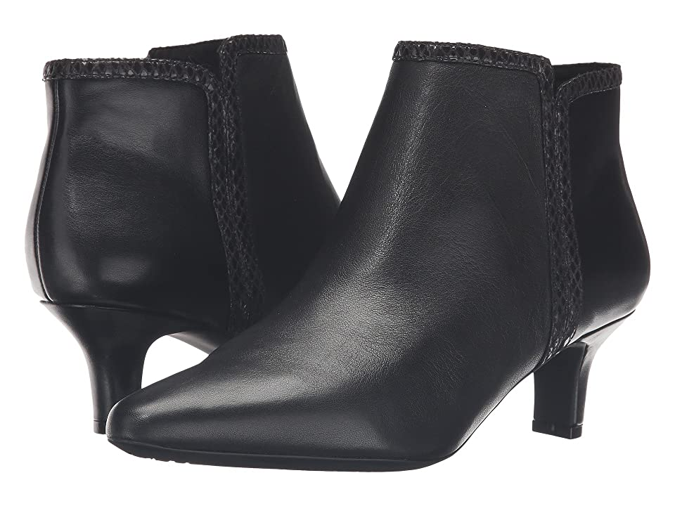 Rockport Kimly Bootie (Black Leather) Women
