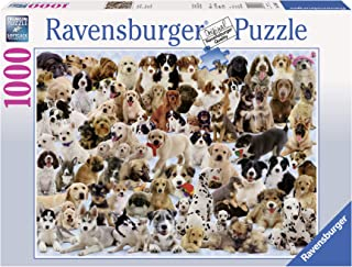 Ravensburger Dogs Galore! Puzzle 1000pc,Adult Puzzles