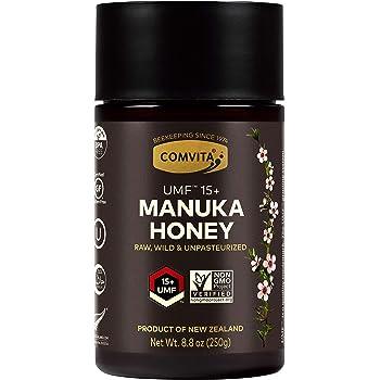 Comvita Certified UMF 15+ (MGO 514+) Raw Manuka Honey I New Zealand's #1 Manuka Brand I Super Premium Grade | Non-GMO Superfood I 8.8 oz