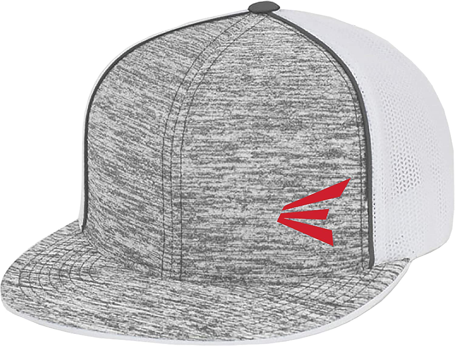 EASTON HEATHERED Baseball Cap, Flexfit Elastic Stretch Fit Fitted Sizing