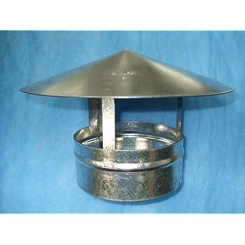 Roof Cowl 100mm Diameter Ducting Ventilation Cap Rain Hat Hood Amazon Co Uk Diy Tools