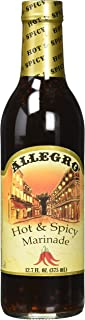 Allegro , Hot & Spicy Marinade. 12.75 Fl. Oz (PACK OF 3)