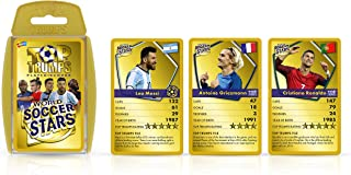 World Soccer Stars Top Trumps Card Game