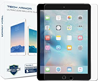 Tech Armor iPad Mini Glass Screen Protector, Premium Ballistic Glass Apple iPad Mini 1/2 / 3 Screen Protectors [1]