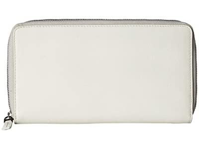 ECCO Casper Travel Wallet (Off-White) Wallet Handbags