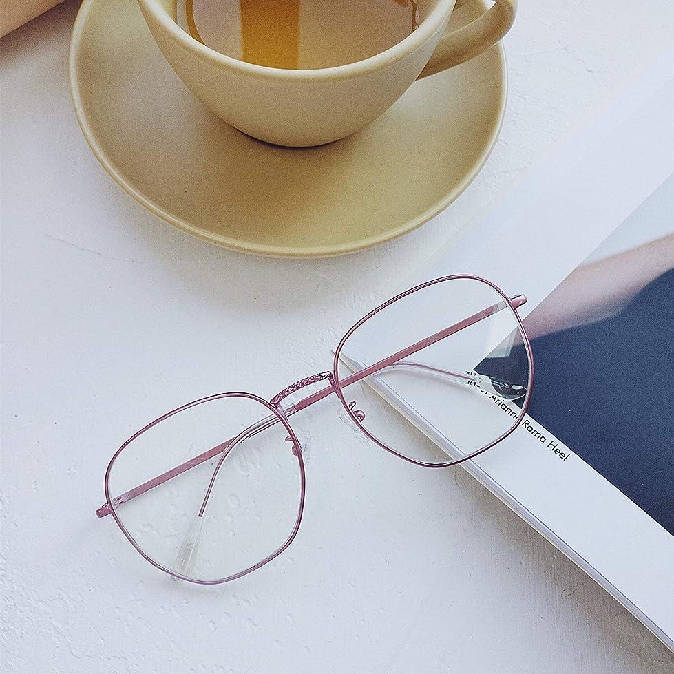 ペルソナ宙返り侵入イン眼鏡は絶対に化粧品であることのないフレームプノンペンフレーム顔の青く輝く女性眼鏡防護乱視のオリジナル夜風を守る