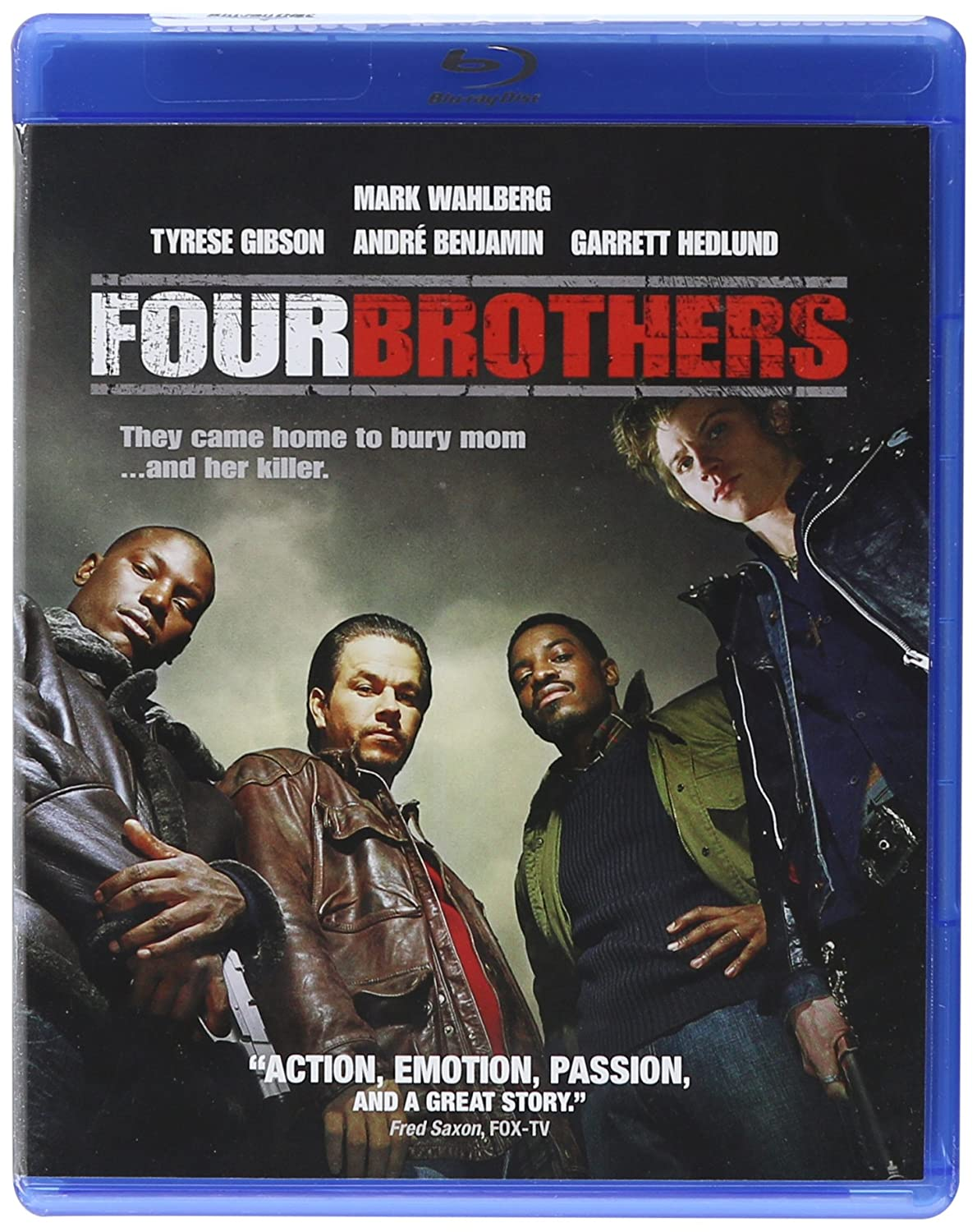 Limited time sale Max 90% OFF Four Brothers Blu-ray