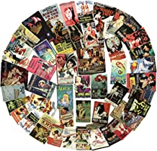 45pcs Large Retro Classic Reminiscence Cartoon and Movie Poster Stickers Laptop Motorcycle Bicycle Luggage Guitar Bike Skateboard Refrigerator Sticker Decal