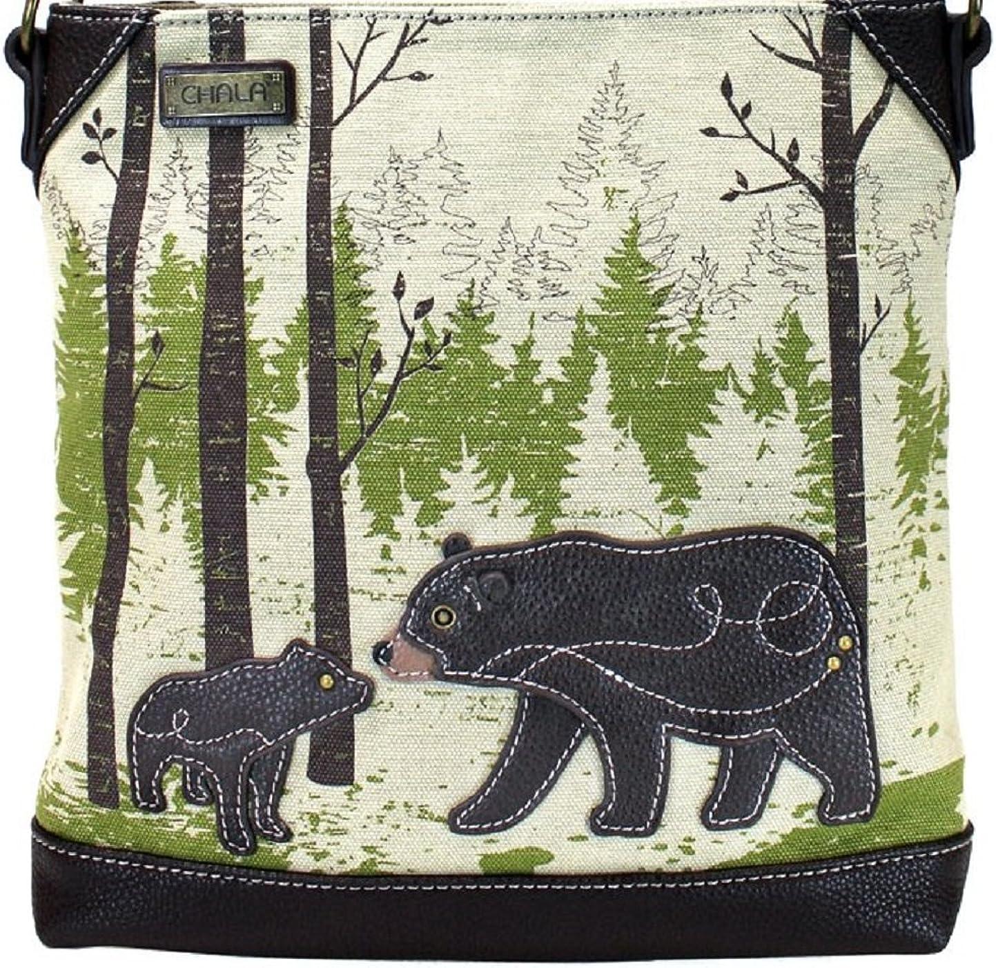 Chala Handbag Large discharge sale Safari Canvas Messenger Bag Regular discount Crossbody Mid-Size