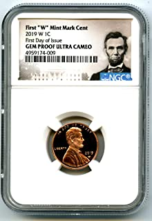 2019 W US MINT Lincoln Union Shield FIRST DAY OF ISSUE Special Release Penny Cent GEM PROOF UCAM NGC