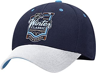 NHL Winter Classic Men's Structured Adjustable Hat, One Size, Blue