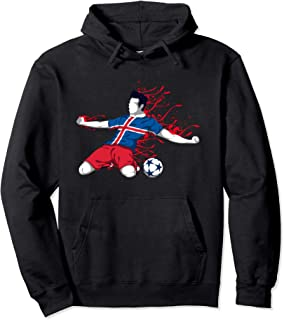 Iceland National Soccer Team Jersey Icelandic Football Gifts Pullover Hoodie