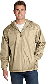 Wholesale Unisex Polyester Hooded Lined Windbreaker Jackets